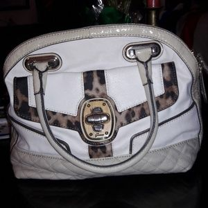 Bags gently used, with leopard motif